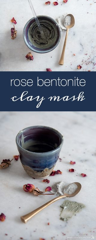 Rose Bentonite Clay Facial Mask
