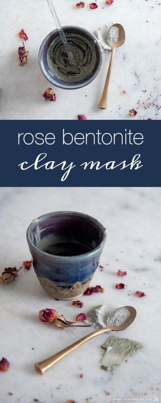 Rose Bentonite Clay Facial Mask