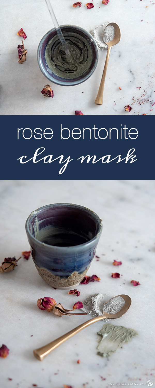 How to Make a Rose Bentonite Clay Facial Mask