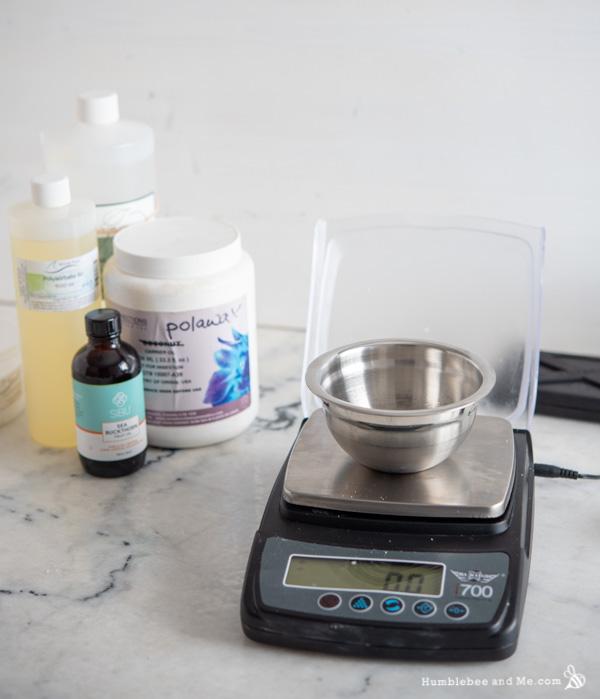 How to Make a DIY Mango Mango Whipped Sugar Scrub