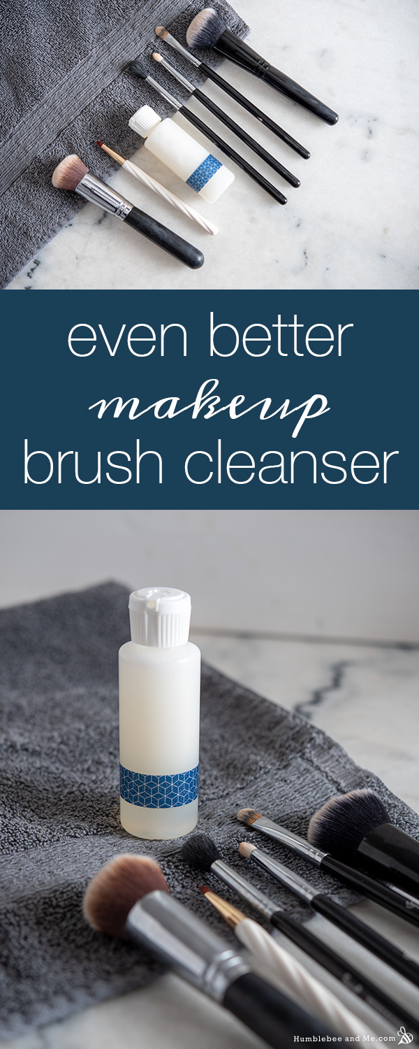 How to Make Even Better Makeup Brush Cleanser