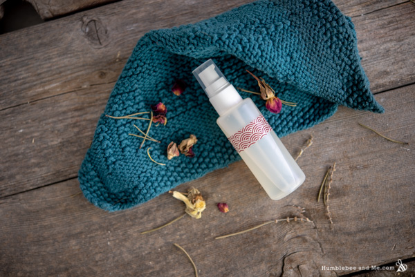 How to Make Sweetgrass Facial Serum