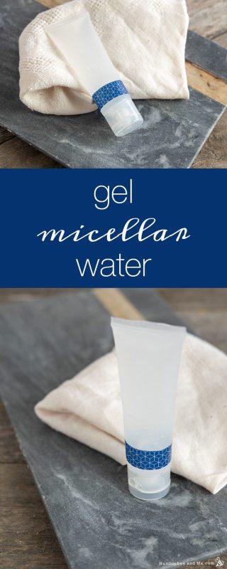 Gel Micellar Water