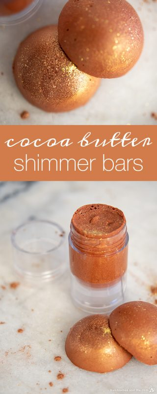 Cocoa Butter Shimmer Bars
