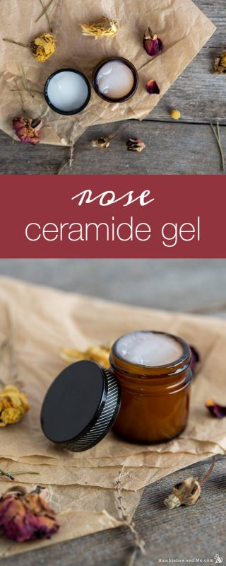 Rose Ceramide Facial Gel