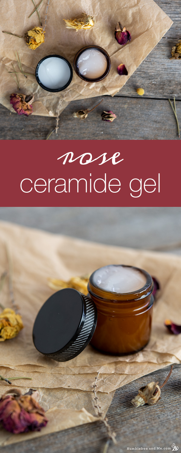 How to Make Rose Ceramide Facial Gel