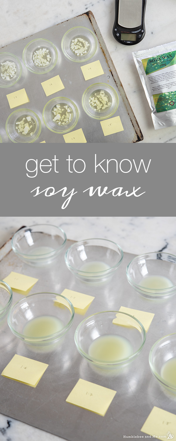A Quick Guide to Soy Wax & Liquid Oil Ratios