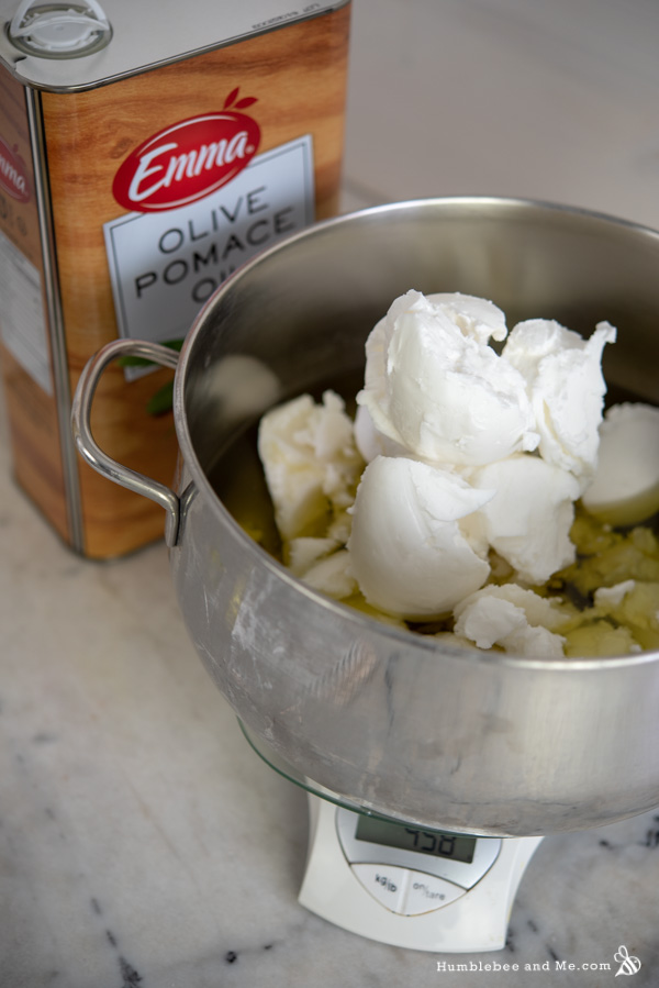 How to Make Pemberley Soap