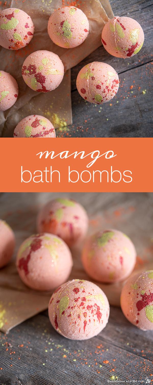 How to Make Mango Mango Bath Bombs