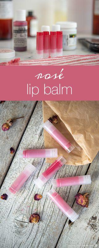 Rosé Lip Balm
