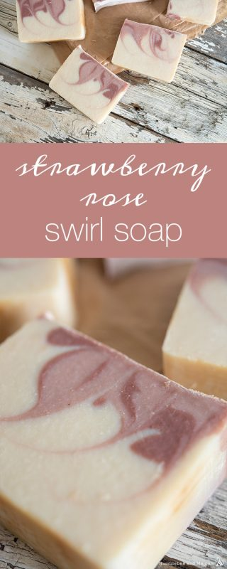 Strawberry Rose Soap