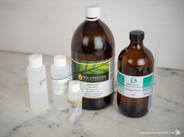 How to Make Sweetgrass Micellar Water