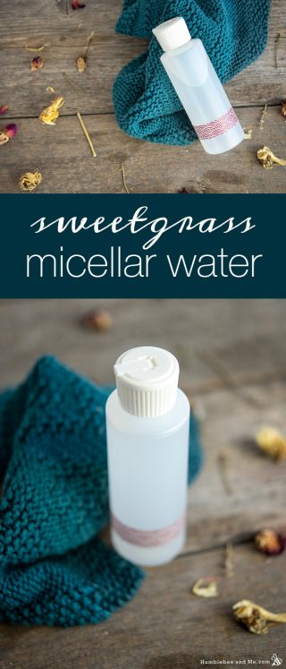 Sweetgrass Micellar Water