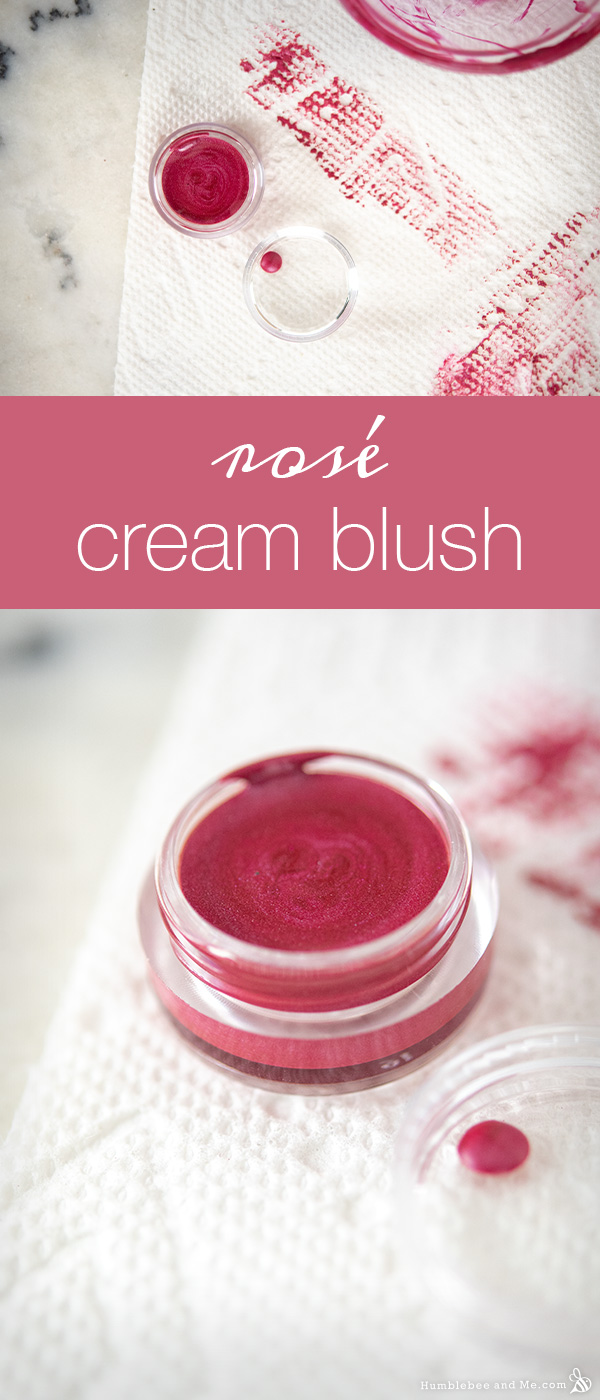 How to Make Rosé Cream Blush