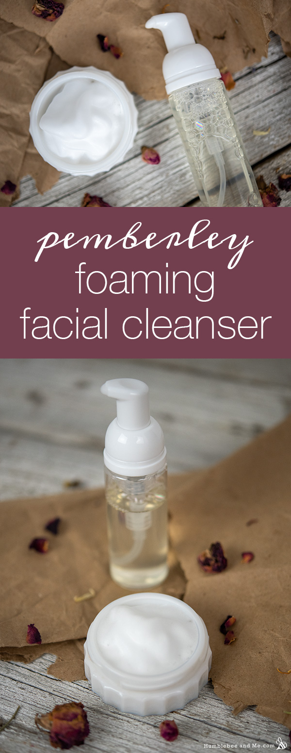 How to Make DIY Pemberley Foaming Facial Cleanser