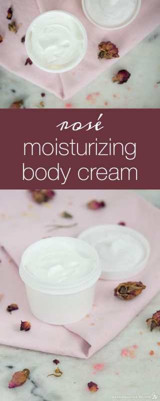 Rosé Moisturizing Body Cream