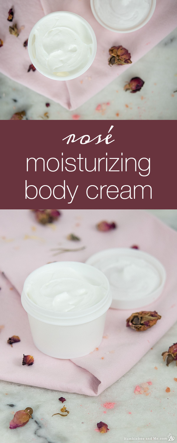 How to Make Rosé Moisturizing Body Cream