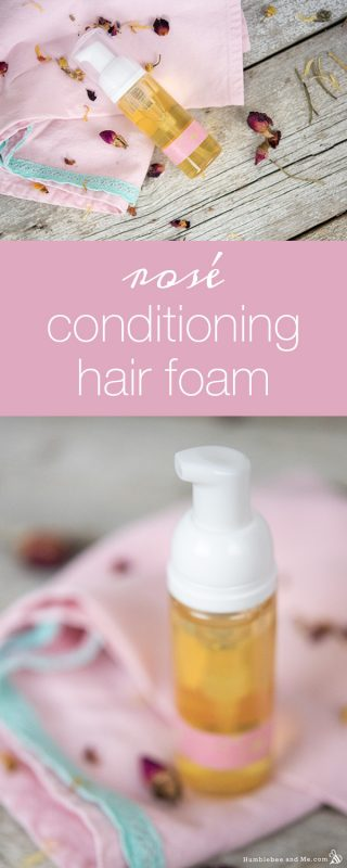 Rosé Conditioning Hair Foam