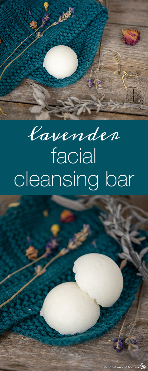 How to Make Lavender Facial Cleansing Bars