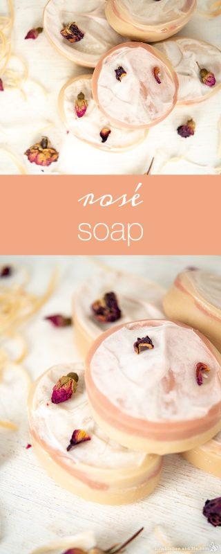 Rosé Soap