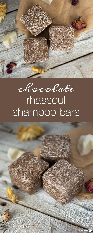 Chocolate Rhassoul Shampoo Bars Humblebee Me