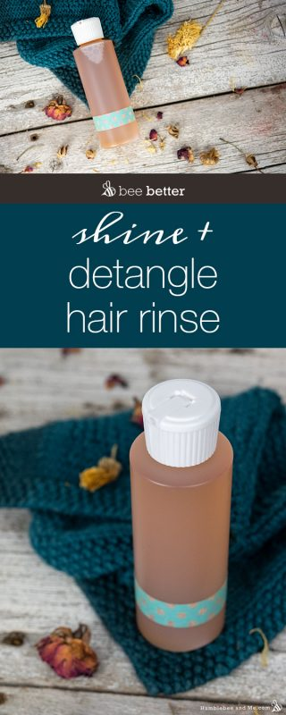Shine & Detangle Conditioning Hair Rinse