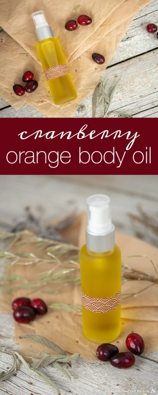 Cranberry Orange Body Oil