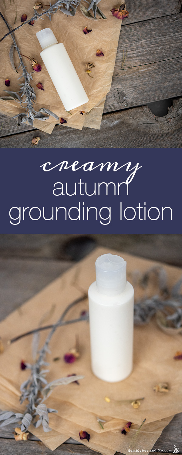 Creamy Autumn Grounding Lotion