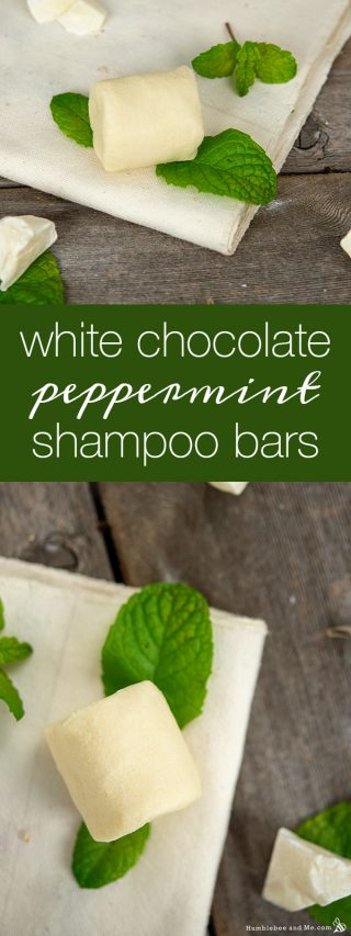 White Chocolate Peppermint Shampoo Bars