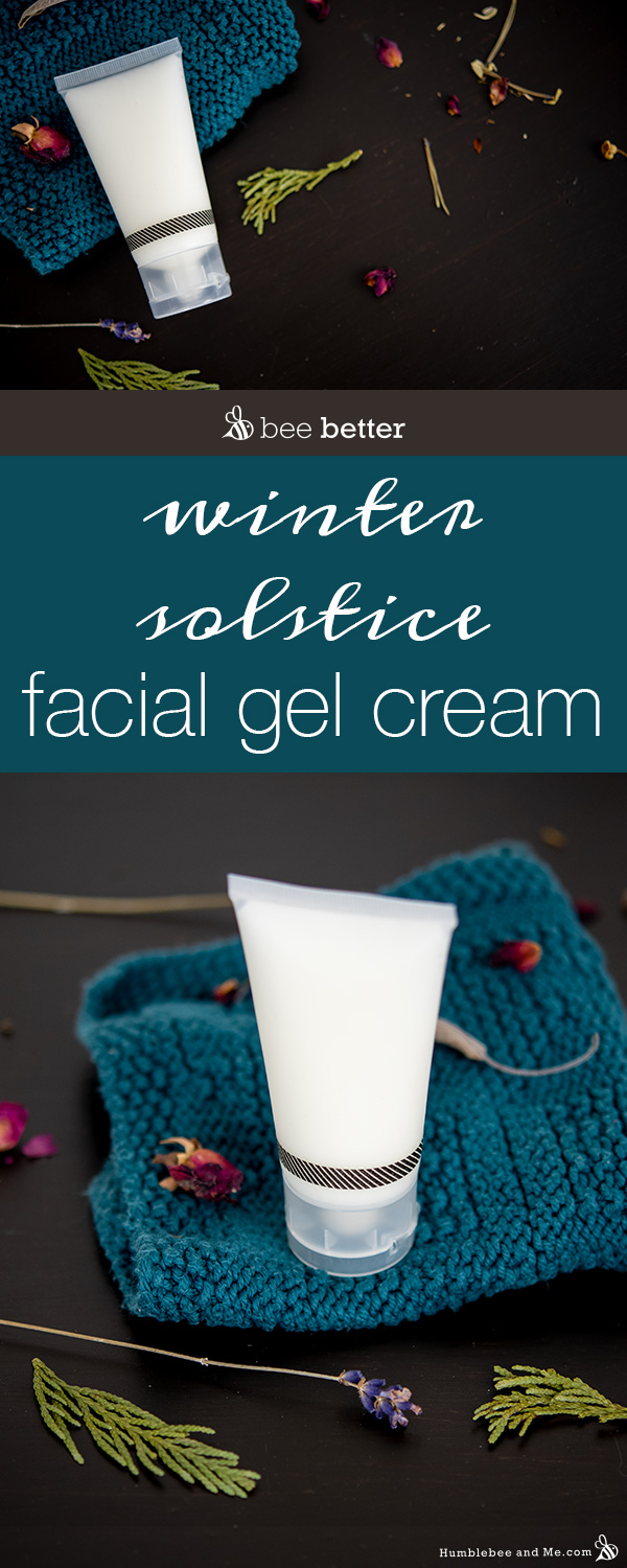 How to Make Winter Solstice Facial Gel Cream