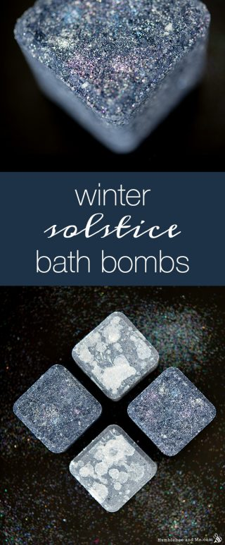 Winter Solstice Bath Bombs
