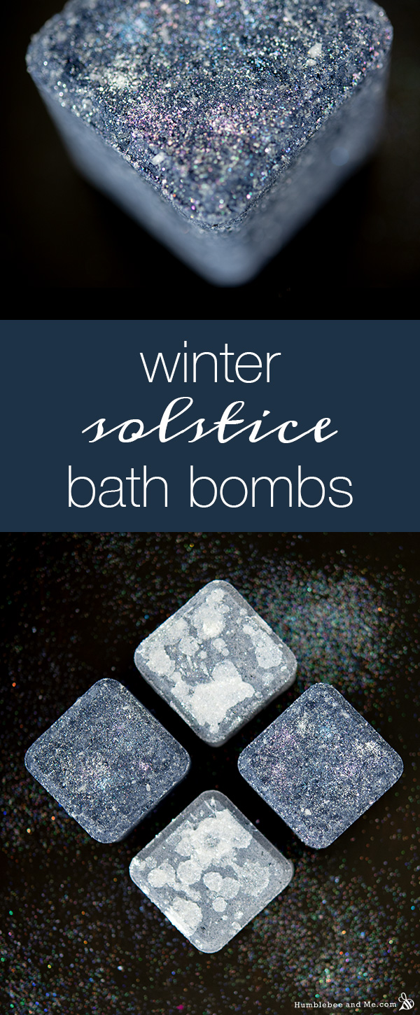 How to Make Winter Solstice Bath Bombs
