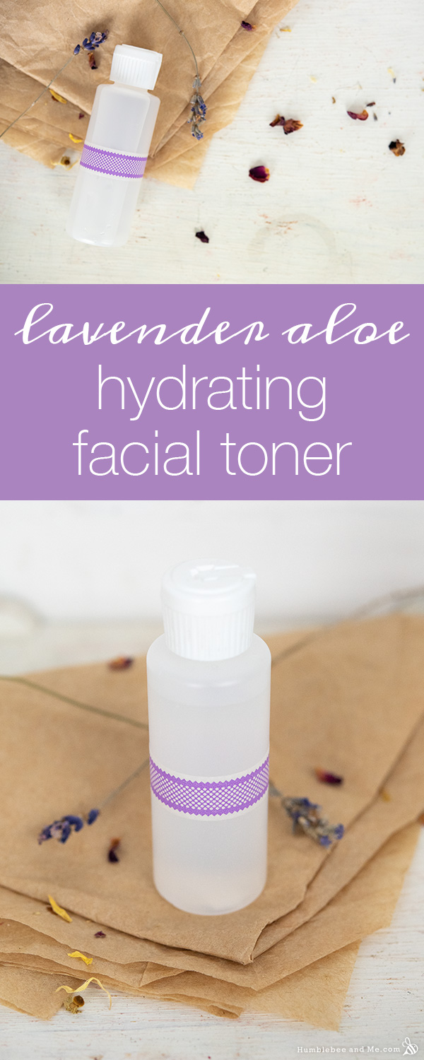 How to Make Hydrating Lavender Aloe Facial Toner