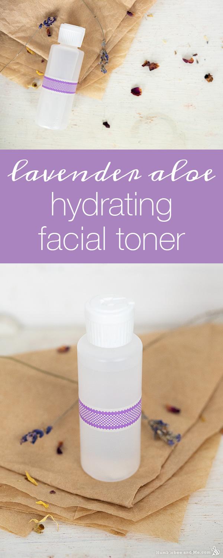 How to Make Hydrating Lavender Aloe Facial Toner