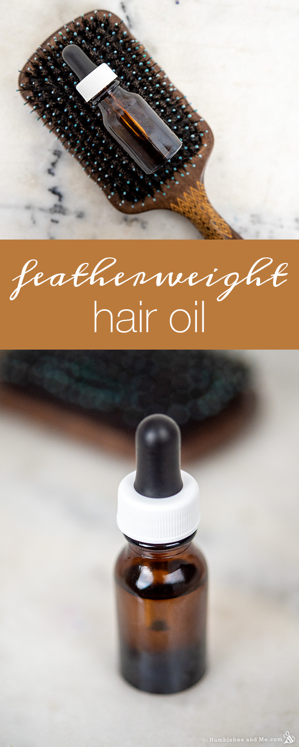 How to Make Featherweight Hair Oil