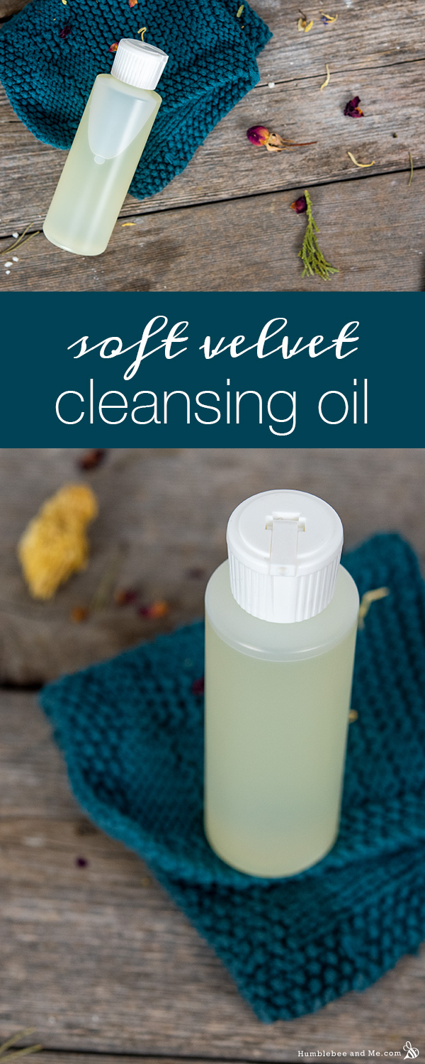 How to Make Soft Velvet Cleansing Oil