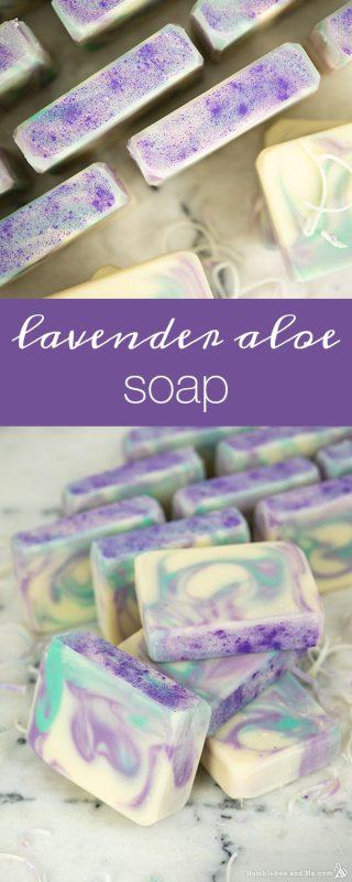 Lavender Aloe Soap