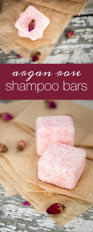 How to Make Argan Rose Pressed Shampoo Bars