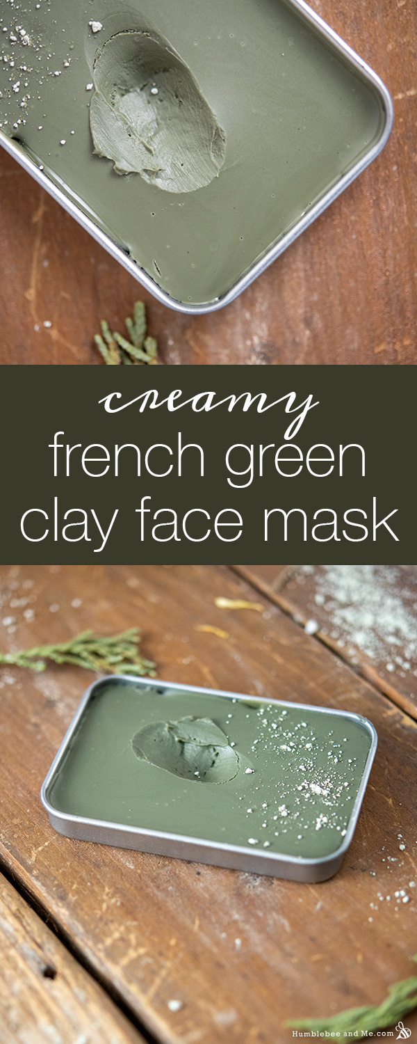 How to Make Creamy French Green Clay Face Mask