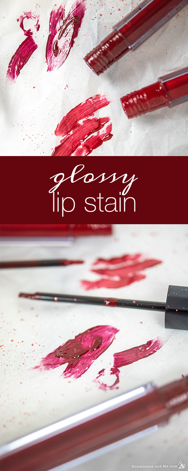 How to Make Glossy Lip Stain