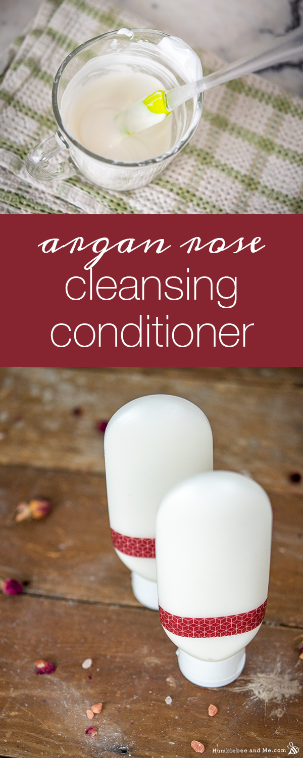 How to Make Argan Rose Cleansing Conditioner