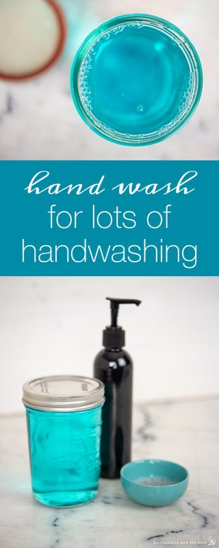 Hand Wash for Lots of Handwashing