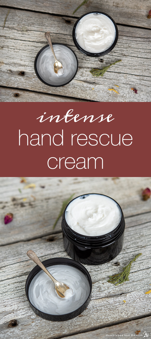 How to Make Intense Hand Rescue Cream