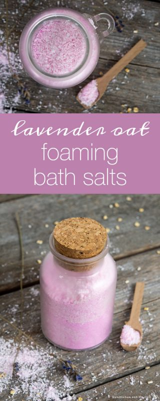 Lavender Oat Foaming Bath Salts