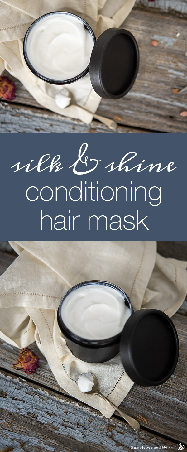 How to Make Silk & Shine Conditioning Hair Mask