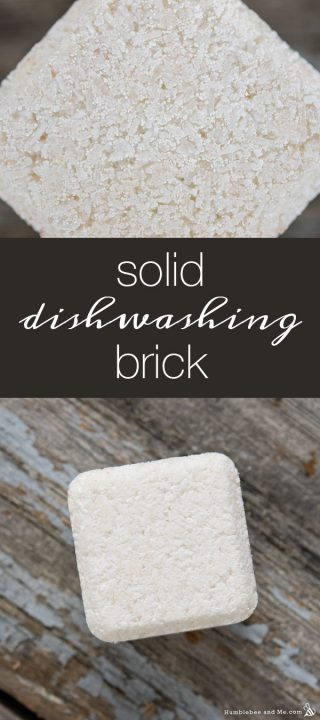 Solid Dishwashing Brick
