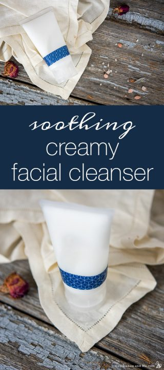 Soothing Creamy Facial Cleanser