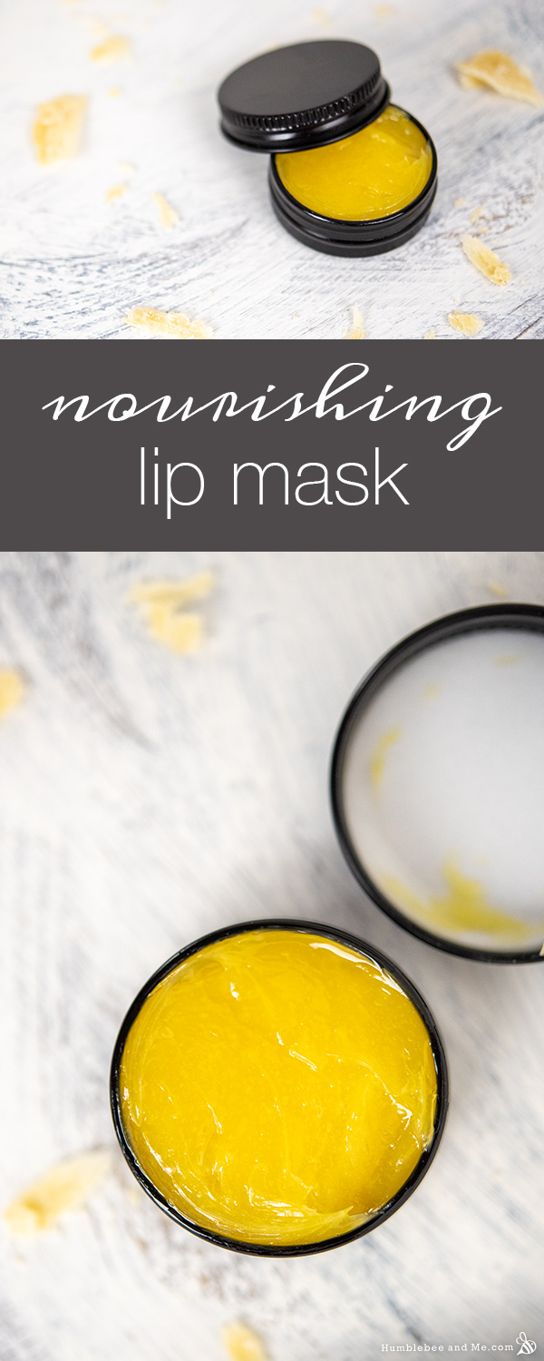 How to Make a Nourishing Lip Mask