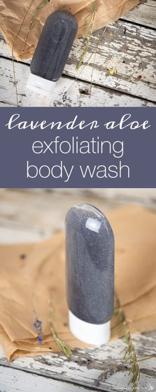 Lavender Aloe Exfoliating Body Wash