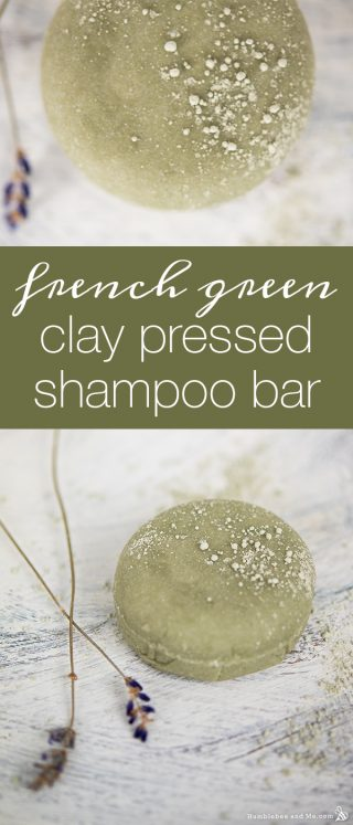 French Green Clay Sulphate-Free Shampoo Bar